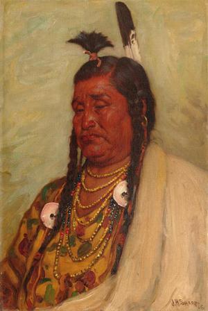 Elk Horn, Blackfoot