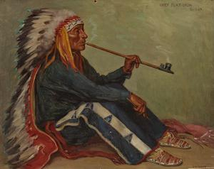 Chief Flat Iron Smoking
