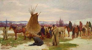 Burial Cortege of a Crow Chief