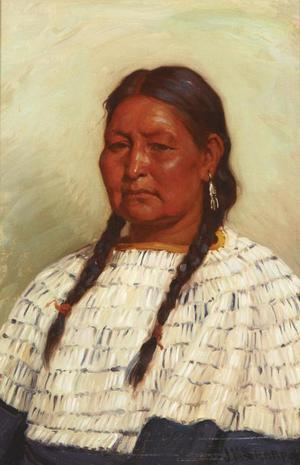 [Wife of Chief Little Wolf]