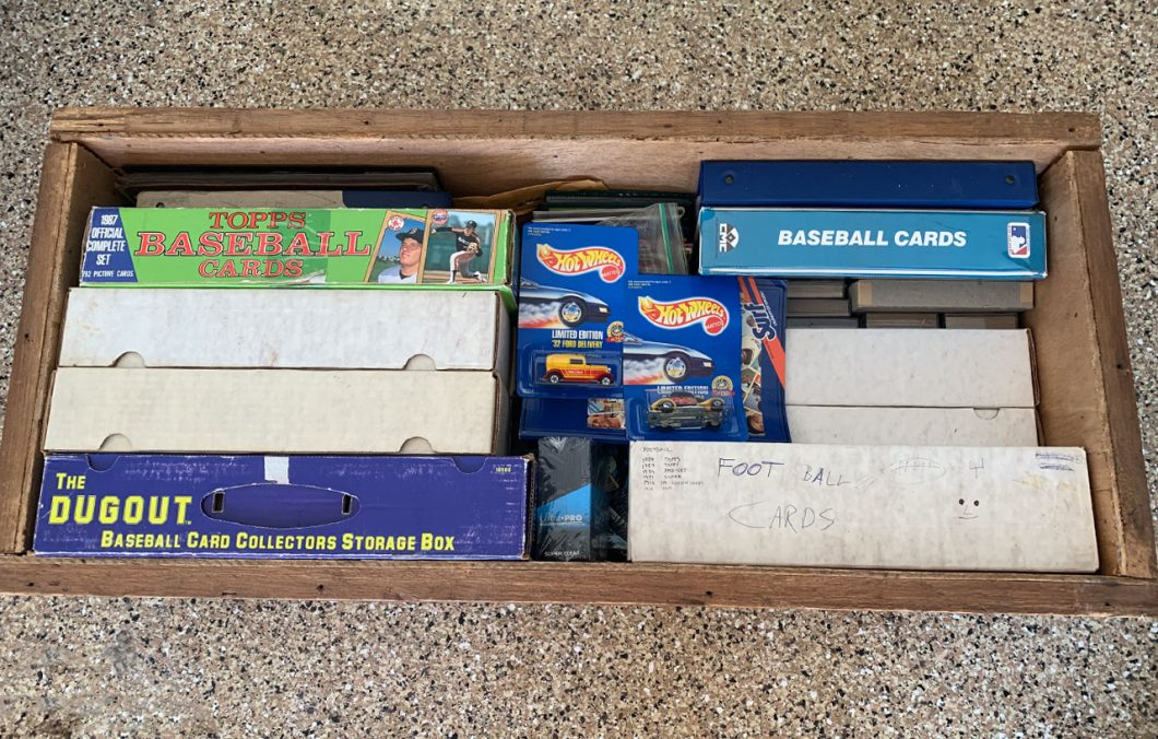 what to do with baseball cards