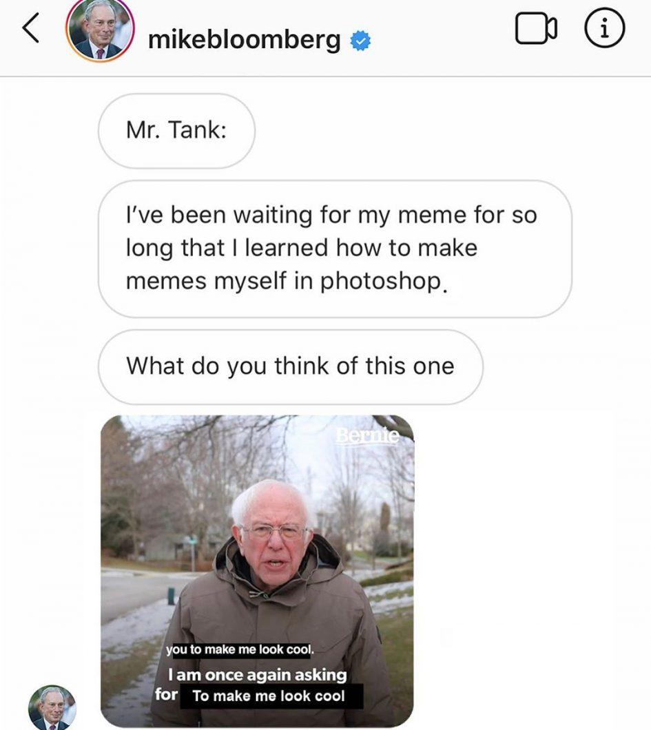 Mike Bloomberg Meme