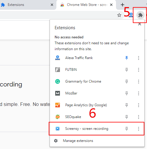 How to Use Chrome Extensions - Step 2