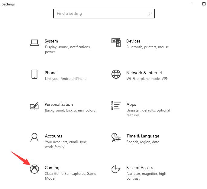 Hoe maak je een schermopname in Windows 10 met de Game Bar – Stap 1
