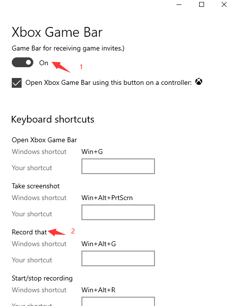 How to Record Your Screen on PC for Windows 10 – Step 2