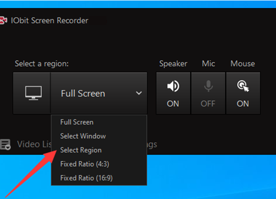 How to Record Your Screen on PC for Free – Feature 1