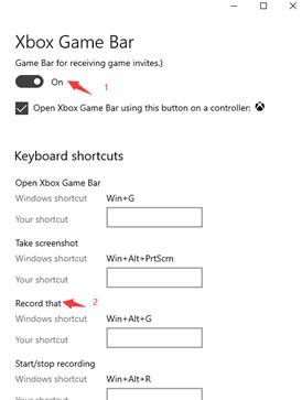 Hur du spelar in din skärm på dator för Windows 10 - Steg 2