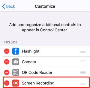 Hur Du Spelar In Din iPhone-skärm utan Appar från Tredje Part