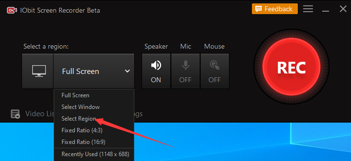 Hoe neem ik YouTube filmpjes op met IObit Screen Recorder??