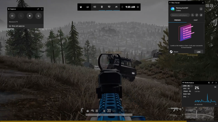 How to Record PUBG Gameplay with Audio – Xbox Game Bar