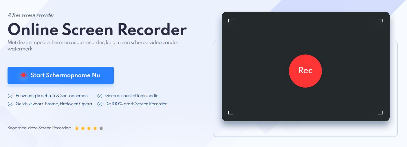 Hoe kan ik mijn PowerPoint presentatie opnemen? IObit Online Screen Recorder