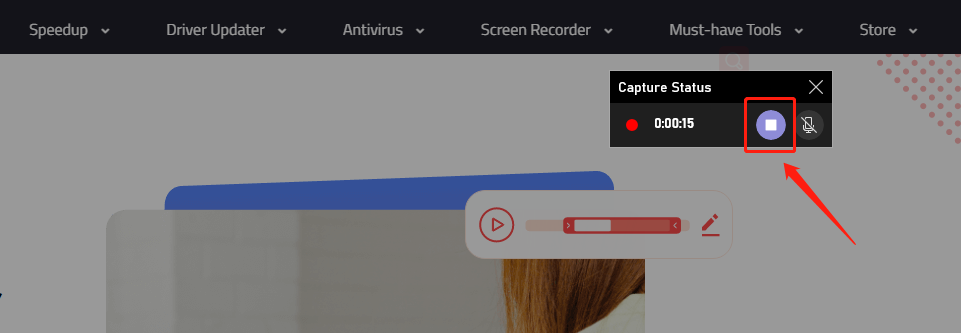Built-in Tool to Stop Recording