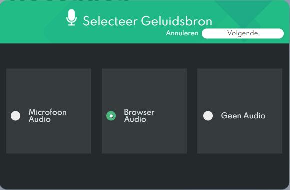 Audiorecorder voor podcast