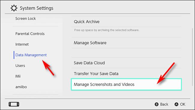 transferir grabaciones de Switch a PC - Paso 2
