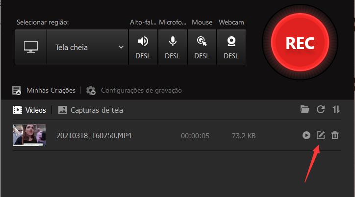 Como Gravar a Tela do PC Grátis – Editar Vídeos