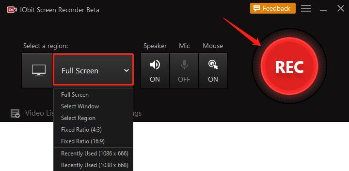 Jak nagrać Netflix na PC - krok 2