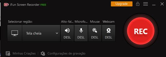 Como gravar a tela de Switch capturada com iFun Screen Recorder – passo 1