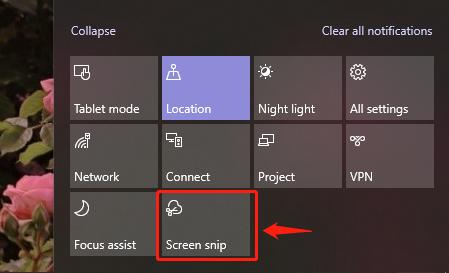 Maak een screenshot op Windows 10