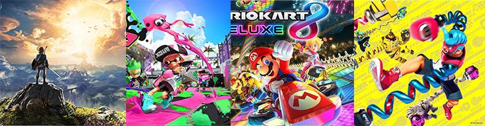 Er zijn slechts vier games toegestaan om de gameplay op de switch op te nemen