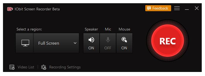 iFun Screen Recorder is de beste recorder voor gratis en nieuwe gebruikers