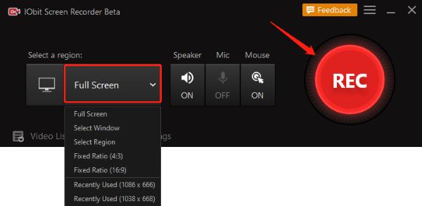 Streaming videorecorder met audio - Stap 2