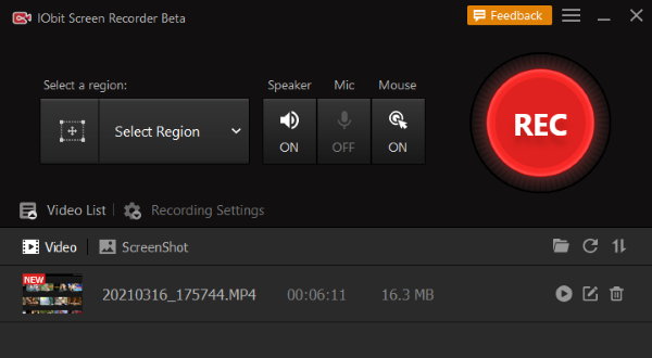 Streaming videorecorder met audio - Stap 3