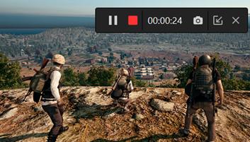 Rejestrator ekranu PUBG na PC