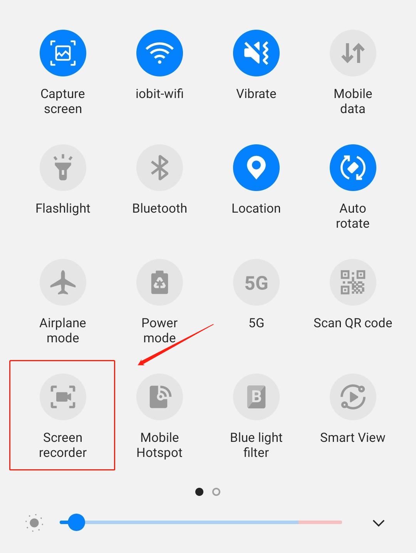 Hur Man Spelar In Skärm på Android-steg2