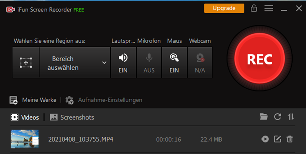 Streaming-Audiorecorder