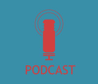 Podcast aufnimmt