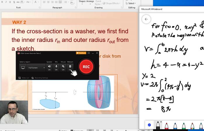 Webcam toevoegen kan de afstand tussen docent en luisteraar verkleinen