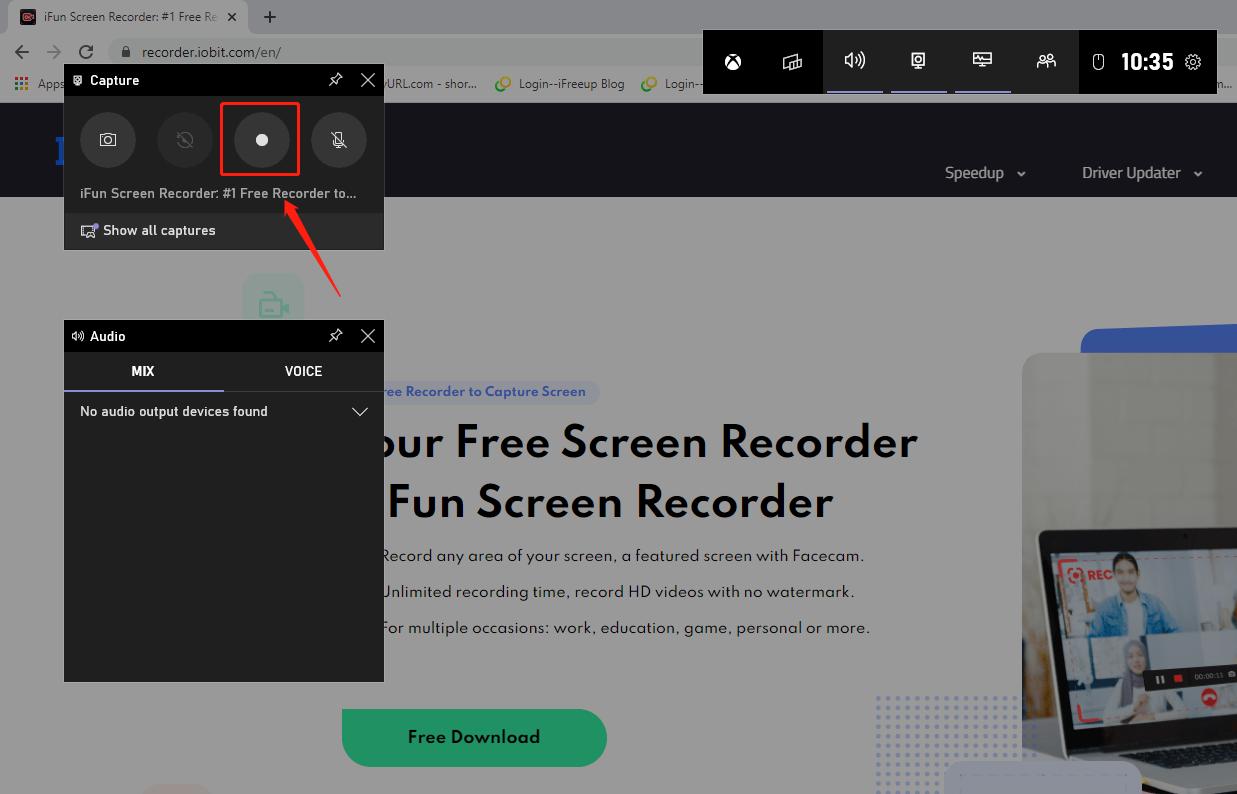 Wbudowane narzędzie do nagrywania ekranu na Windows 10