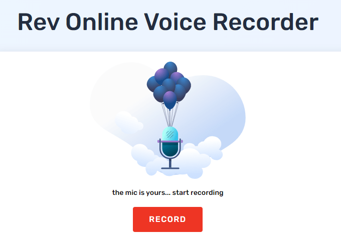Streaming Audio Recorder Online