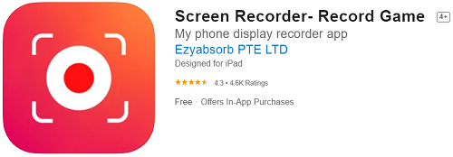 Screen Recorder - Registra il gioco