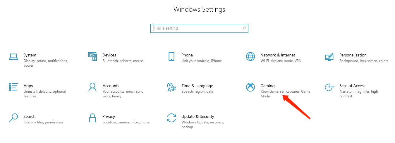 Scherm opnemen op Windows
