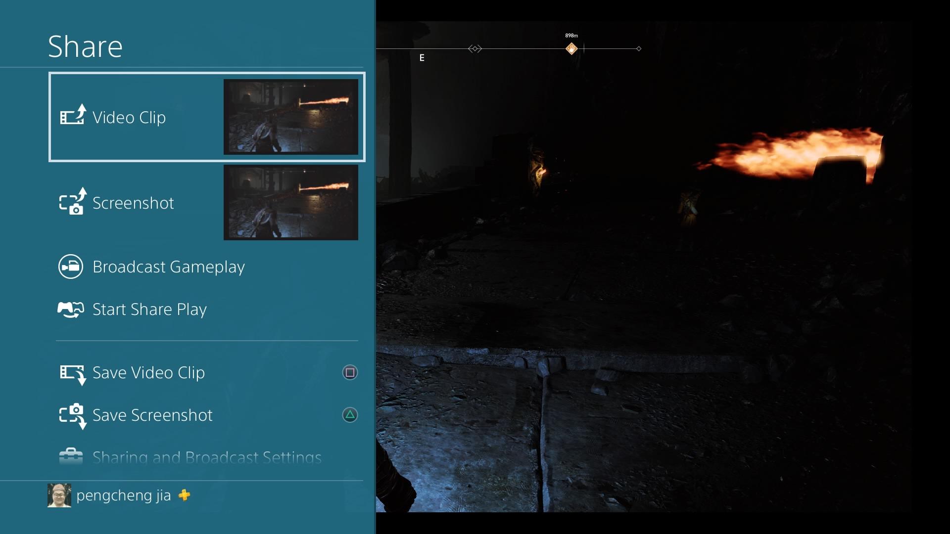 Como Gravar a Gameplay no PS4 - Começar a Gravação