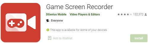 Najlepsza aplikacja Game Screen Recorder