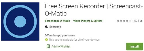Bezpłatna aplikacja do nagrywania ekranu - Screencast-O-Matic