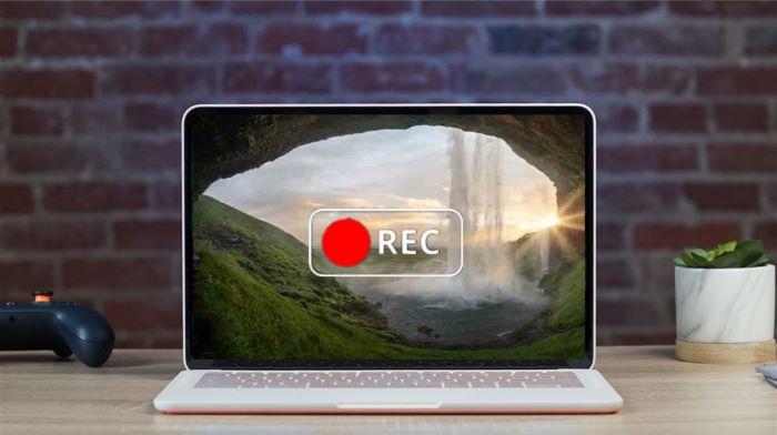 grabar pantalla en portátil con audio en Win y Mac