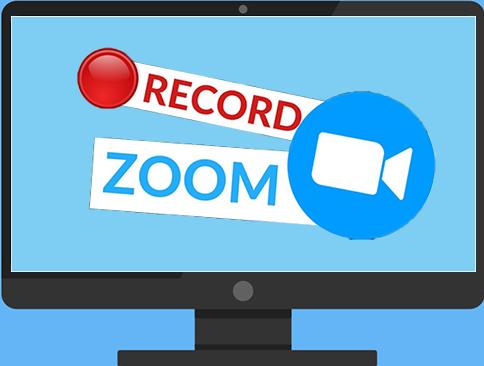 den Kurs über Zoom aufzeichnen