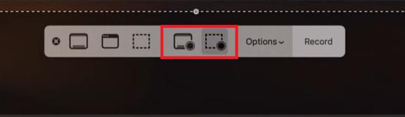 Bildschirms auf Mac aufzeichnen