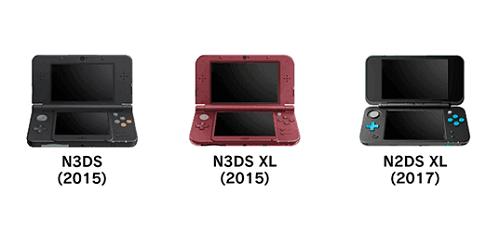 Modelos que suportam gravação de software (CFW NTR)
