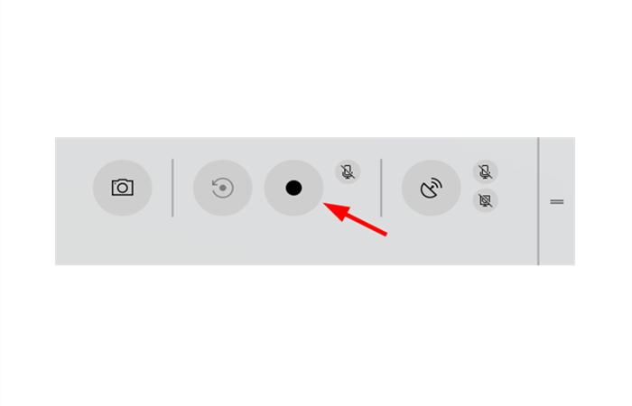 Laptop-Bildschirm aufnehmen