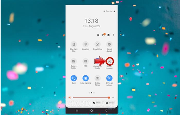 registra google meet sul telefono Android
