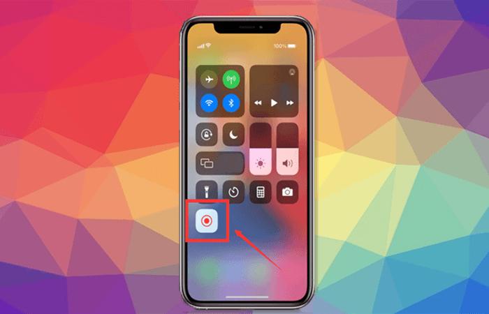 recorder integrato in iOS per registrare google meet sul telefono