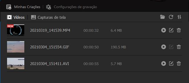 O Gravador de Tela iFun é Compatível com Várias Formatos de Gravações para Jogos
