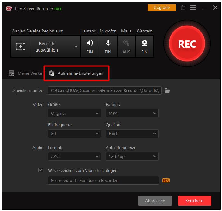 Wie kann man ein Live-Webinar abfilmen