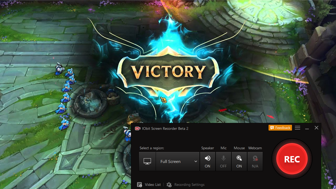 Jak nagrać League of Legends - iFun Screen Recorder