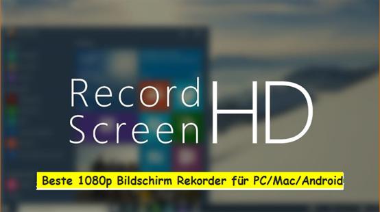 Bildschirmrekorder