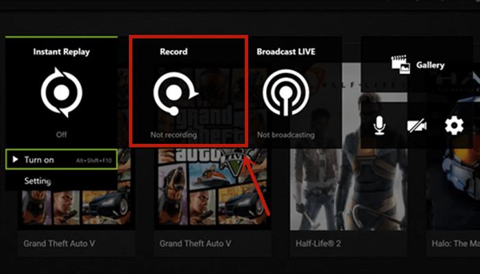 nvidia geforce é um dos melhores gravadores de jogos de alta qualidade